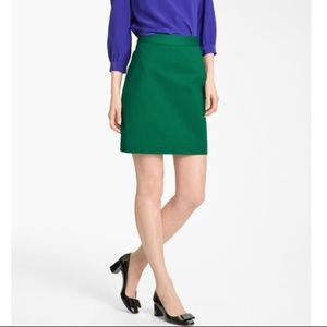 Kate Spade Green Pencil Skirt Career Size 2